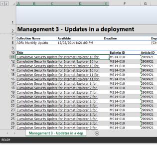 Automate sending reports
