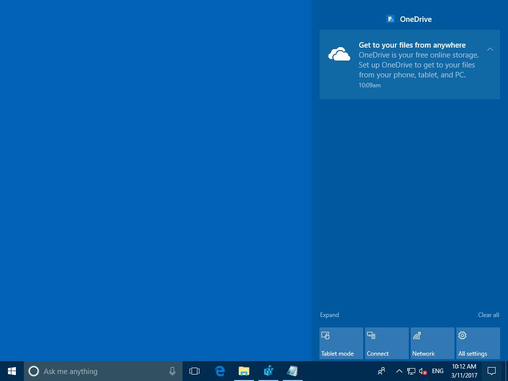 Disable the OneDrive Notification/Advertisement | HappySCCM